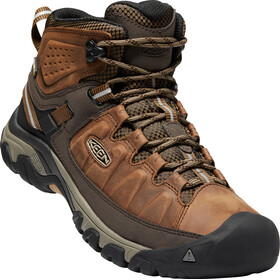 Keen Targhee III Mid WP Shoes Men Big Ben/Golden Brown